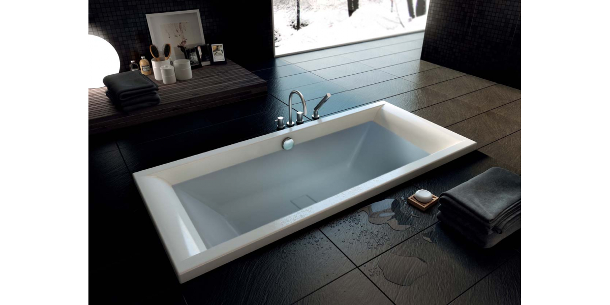 baignoire droite maestro 180 cm avec r flex. Black Bedroom Furniture Sets. Home Design Ideas