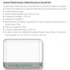 Radiateur Sèche-serviettes FUNKY eau chaude / soufflerie booster