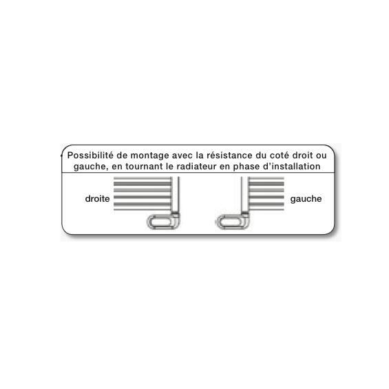 Radiateur Sèche-serviettes FLÈCHE électrique