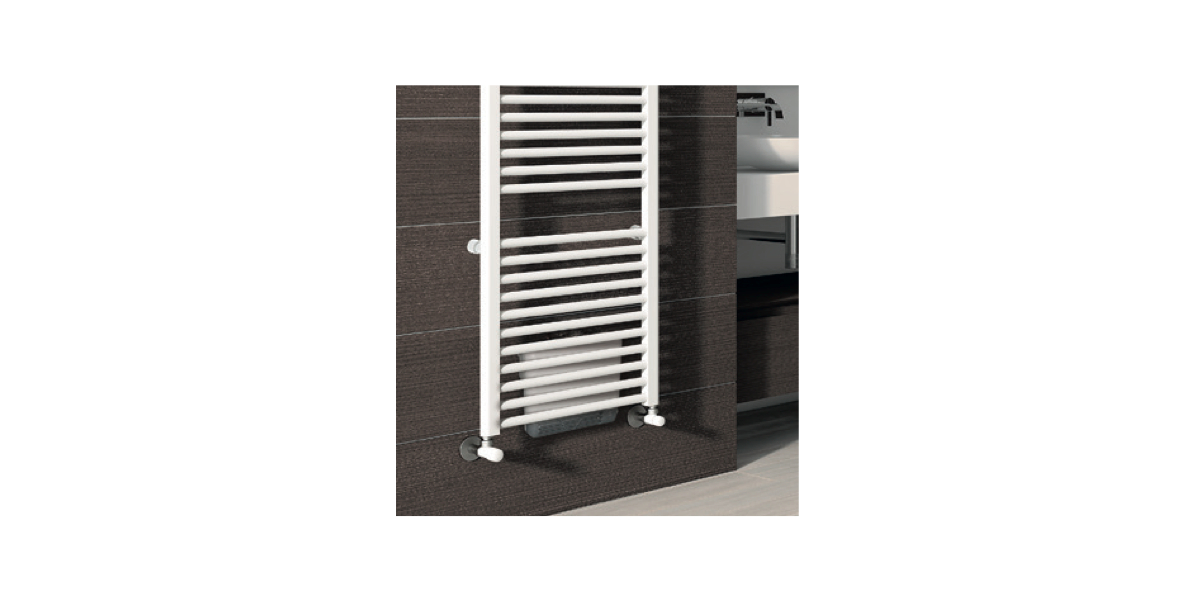 radiateur s che serviettes ares eau chaude avec booster. Black Bedroom Furniture Sets. Home Design Ideas