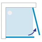 Cabine de douche intégrale Nahuel Blanc