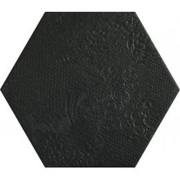 Découvrir Milan black 25*25 cm