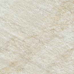 Carrelage sol extérieur effet pierre minéral bianco R9 30*30cm