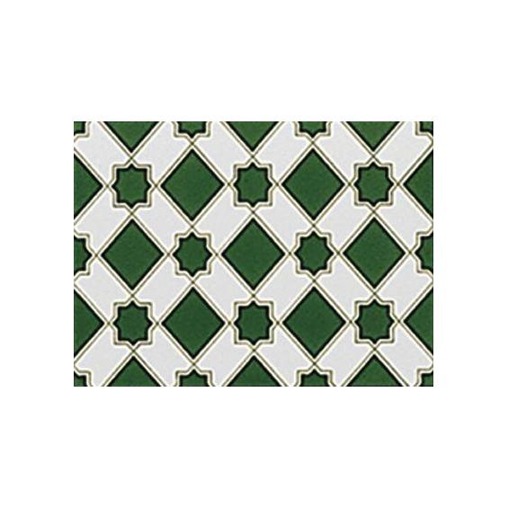 Cartuja verde 15*20 cm