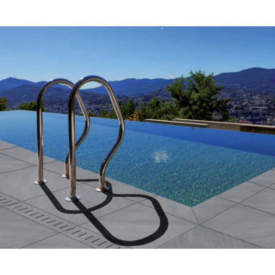 Margelle piscine Prodige graphito 30x60 cm