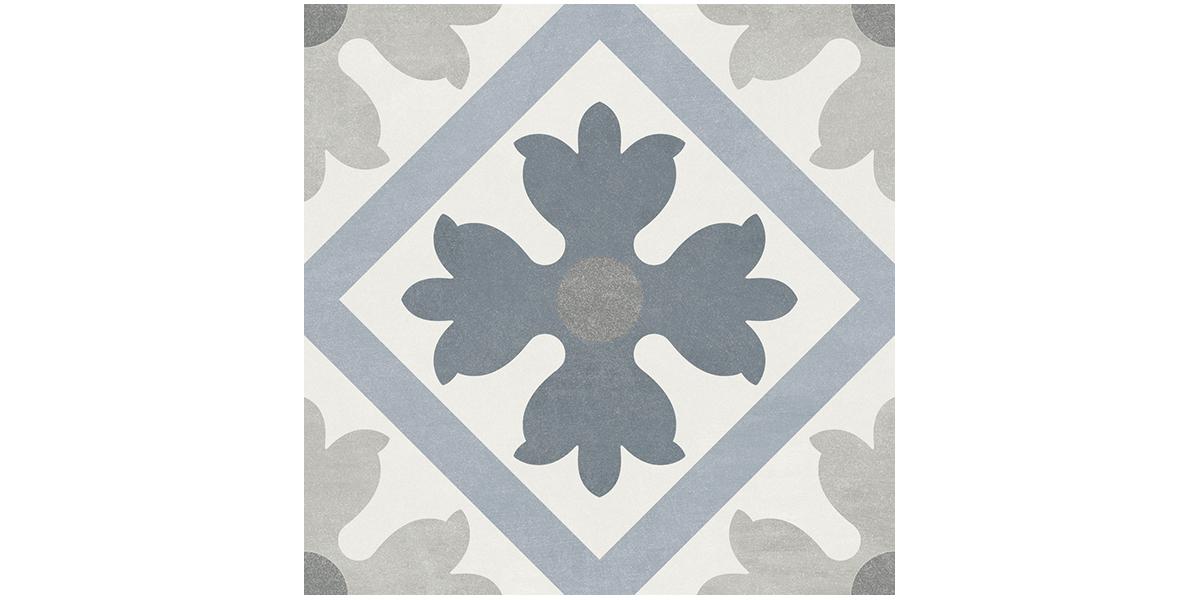 Vente carreaux ciment montmartre martia 15 15 cm for Carrelage bleu sol