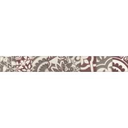 Découvrir Frise Fiore burdeos 5*40 cm