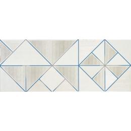Carrelage mur Décor amazing white 20*50 cm