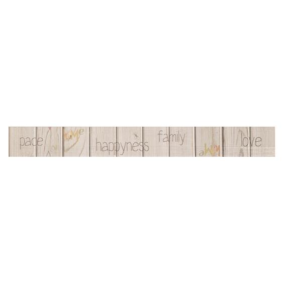 Frise Graphiti Moka 4,6*40 cm