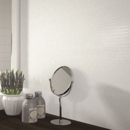 Carrelage mur Vita white texture 20x60 cm