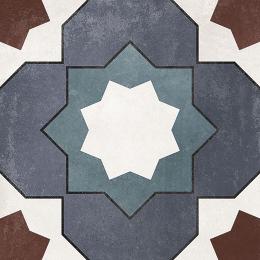 Carrelage sol effet carreaux de ciment Castle karen 15*15 cm