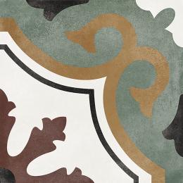 Carrelage sol effet carreaux de ciment Castle olivia 15*15 cm