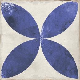 Carrelage sol effet carreaux de ciment Bayou daroca blue 15*15 cm