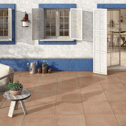 Carrelage sol extérieur classique Egypte terra R11 33*33 cm