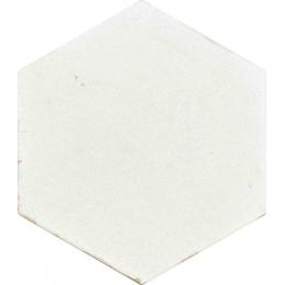 Carrelage sol et mur effet zellige pearl 13,9 CM HEX.