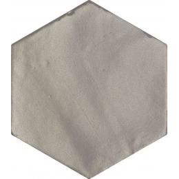 Carrelage sol et mur effet zellige grey 13,9 CM HEX.