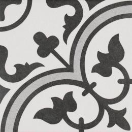 Carrelage sol effet carreaux de ciment Romaique Grey 25*25 cm