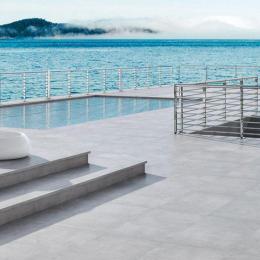 Carrelage sol extérieur moderne Don angelo pearl R11 30*60 cm