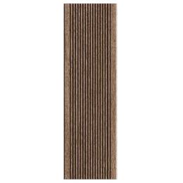 Carrelage sol extérieur effet bois Madera Wengue R11 15*50 cm