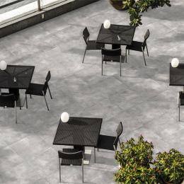 Carrelage sol extérieur moderne Tech grigio R11 60*60 cm