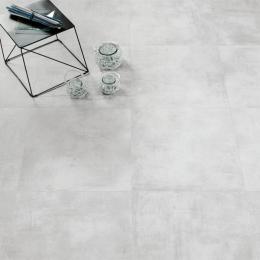 Carrelage sol extérieur moderne Tech bianco R11 60*60 cm