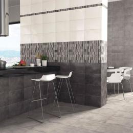 Carrelage mur Aton Graphito 25x40 cm