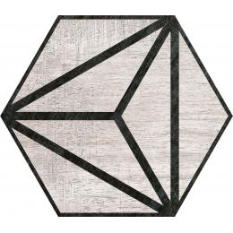 Découvrir Legno grey 25*25 cm