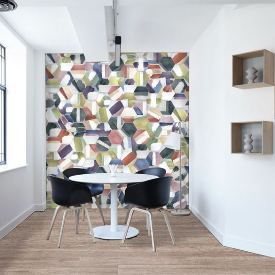 Picasso mix colors 25*25 cm