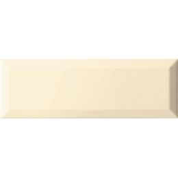 Carrelage mur Métro crema 10*30 biseauté