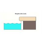 Margelle piscine Hook Grigio 30x60 cm
