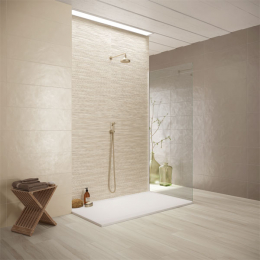 Carrelage mur Colors lineal taupe 25*75