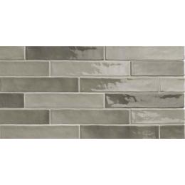 Carrelage mur effet zellige gris 5*25 cm