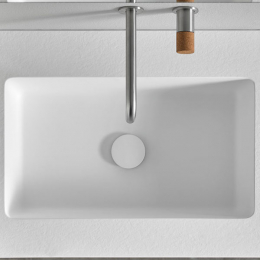 Vasque simple Selene centrée