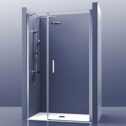 Découvrir Porte de douche pivotante Azur