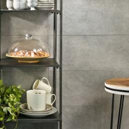 Carrelage mur Grano gris 25*75 cm