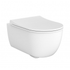 Cuvette suspendue WC First blanc mat