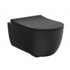 Cuvette suspendue WC First noir mat