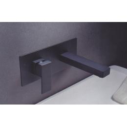 Découvrir Mitigeur lavabo Encastré Luiza noir