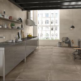 Carrelage sol extérieur moderne Prestige ambre R11 60*60 cm