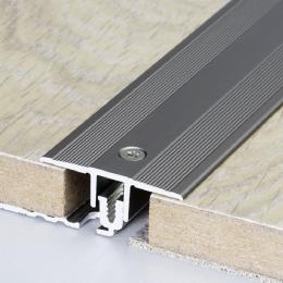 Découvrir Profil de séparation aluminium pour parquet et stratifié