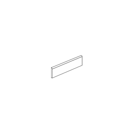 Plinthe Grigio 7,5*60 cm / Tous coloris