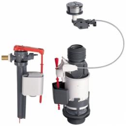 Découvrir Mécanisme Wc à cable et robinet flotteur
