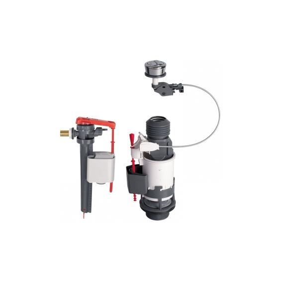 Mécanisme Wc à cable et robinet flotteur